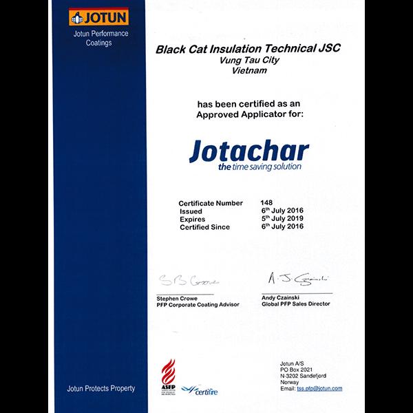 Jotachar certificate
