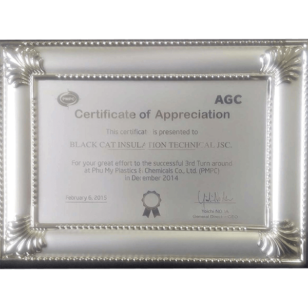 AGC recommendation Black Cat Insulation contractor