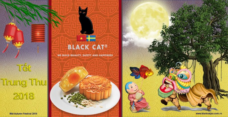 trung thu 2018 mid autumn festival - black cat insulation jsc
