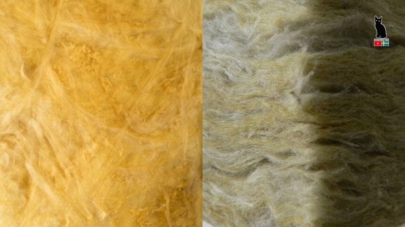 Compare Rockwool and Glasswool